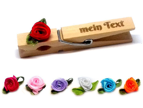 Glubbal Rose Stoff - mit Text
